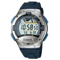 Casio Men's W753-2AV Blue Resin Quartz Watch with Digital Dial