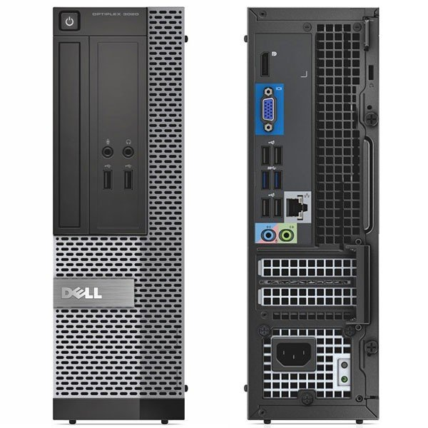 DELL Optiplex 3020 Small Form Factor, Windows 10 Pro 64-bit, Intel Core i5-4570 3.2GHz, 4GB RAM, 500GB SATA, DVDRW, Europc 30 Days Warranty - 120454