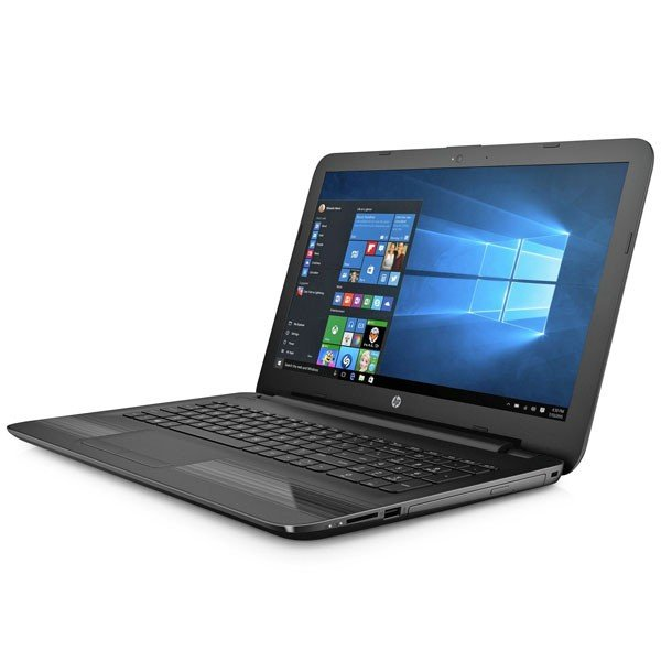 "HP 15-ay013na Black, Windows 10 Home 64-bit, Intel Pentium N3710 1.6GHz, 4GB RAM, 1TB SATA, 15.6"" 1366x768 HD, DVDRW, 1 Year RTM Warranty - 119209"