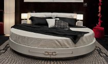 Real Leather Bed Frame SWAN-RL