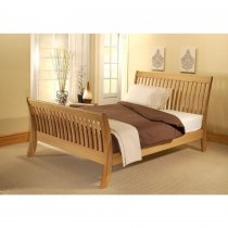 Solid American Oak Bed Frame VENUS